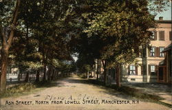 Ash Street, North from Lowell Street