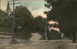 Parting of the Ways, South Main Street Postcard