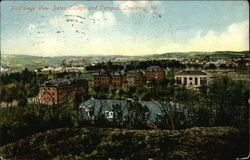 Bird's Eye View of Bates College and Campus