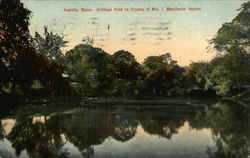 Artificial Pond on Grounds of Mrs J Manchester Haynes