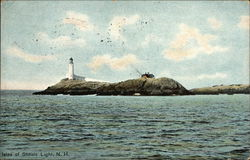 View of Isles of Shoals Lighthouse, White Island