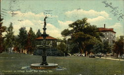 Fountain on Village
