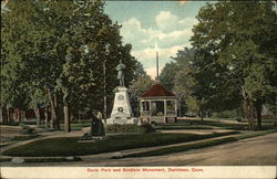 Davis Park and Soldiers' Monument