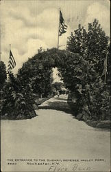 Entrance to Subway, Genesee Valley Park