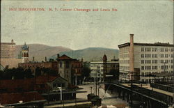 Corner of Chenango and Lewis Streets