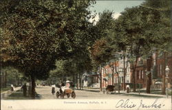 View of Delaware Avenue