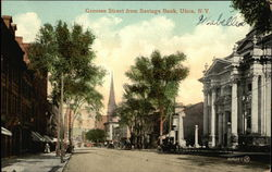 View of Genesee Street from Savings Bank