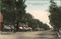 Main Street Looking from Fourth Street