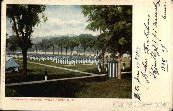 Cadet's on Parade West Point New York