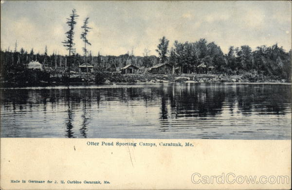 Otter Pond Sporting Camps Caratunk Maine
