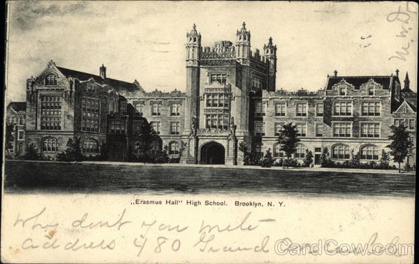 Erasmus Hall High School Brooklyn New York