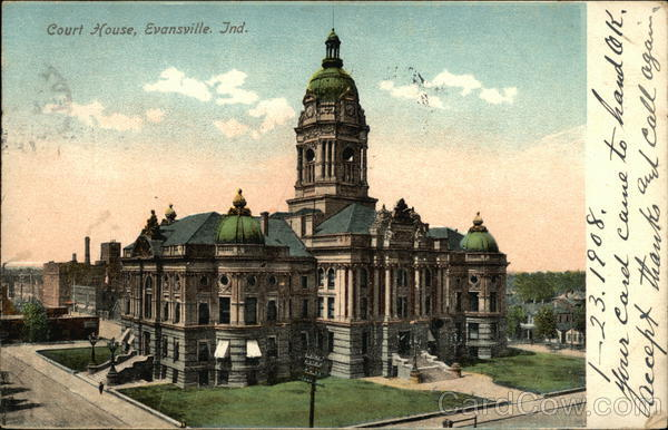 Court House Evansville Indiana