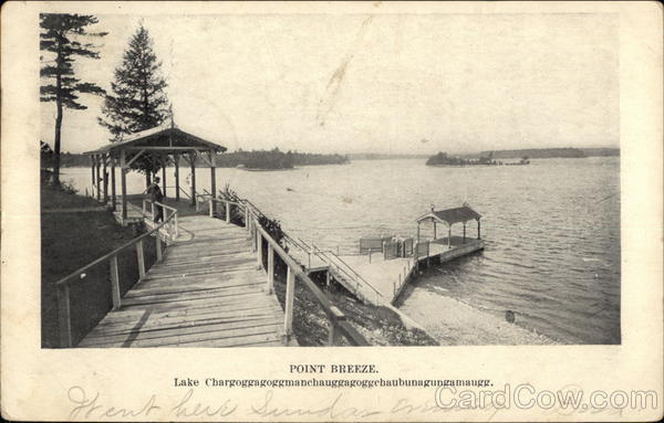 Point Breeze, Lake Chargoggagoggmanehauggagoggehaubunagungamaugg Webster Massachusetts