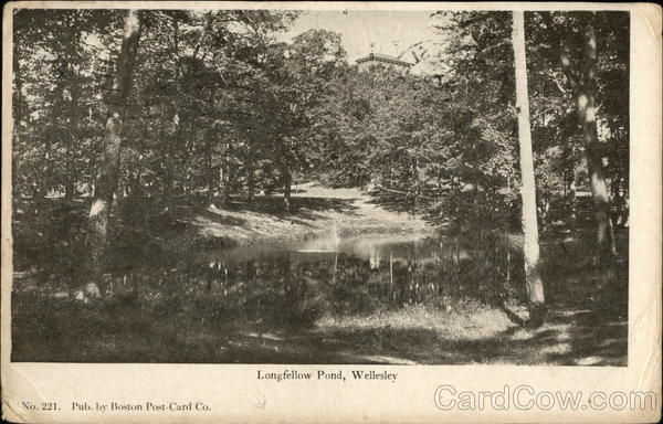 Longfellow Pond Wellesley Massachusetts