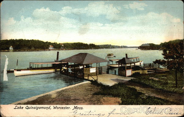 Lake Quinsigamond Worcester Massachusetts