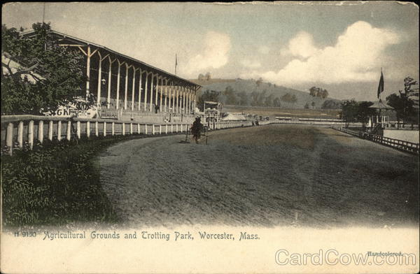 Agicultural Grounds and Trotting Park Worcester Massachusetts