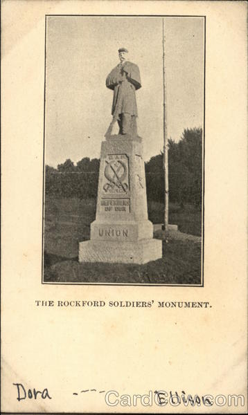 The Rockford Soldiers' Monument Military