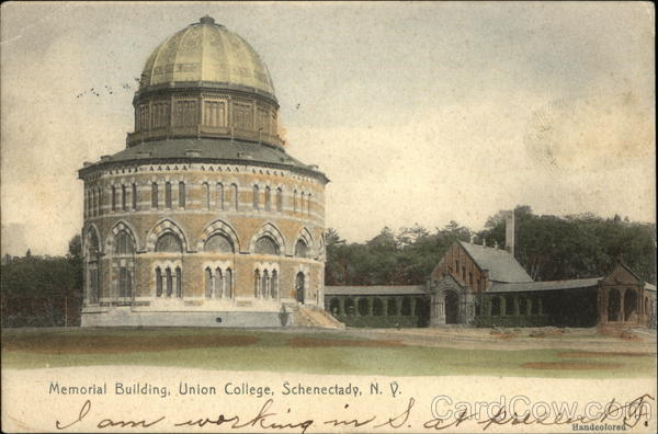 Memorial Building, Union College Schenectady New York