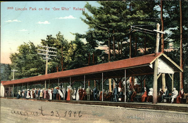 Lincoln Park on the Gee Whiz Railway New Bedford Massachusetts