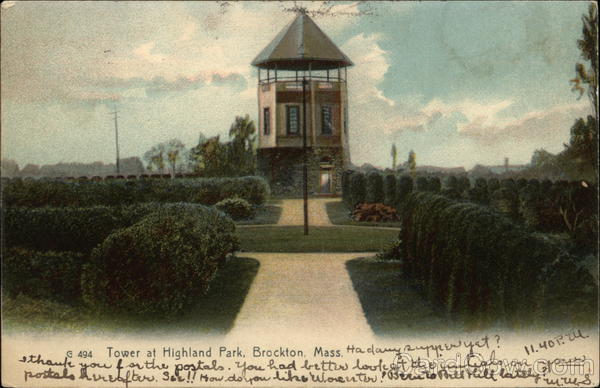 Tower at Highland Park Brockton Massachusetts