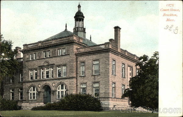 Court House Brockton Massachusetts