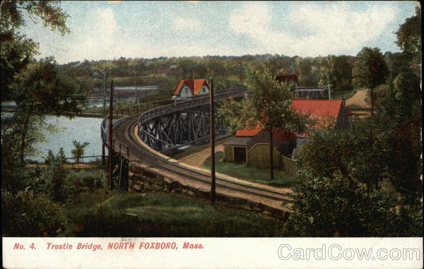 Trestle Bridge North Foxboro Massachusetts