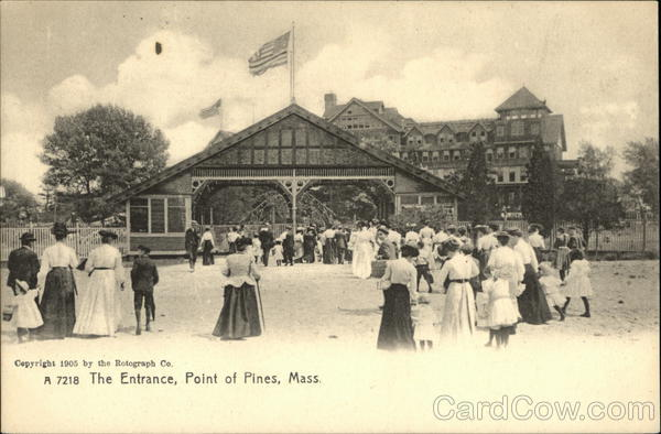 The Entrance Point of Pines Massachusetts