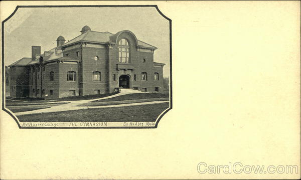 The Gymnasium at South Hadley, Mass Massachusetts