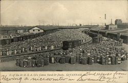 C. of Ga & O.S.A. Co's Cotton Yards and Docks