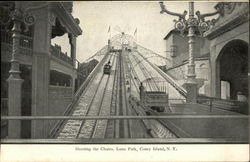 Shooting the Chutes, Luna Park