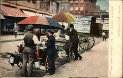 New York Street Life, Ice Cream Vendors