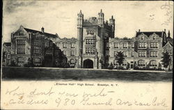 """Erasmus Hall"" High School"