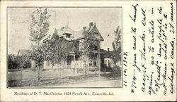 Resident of DT MacClement, 1024 Powell Avenue