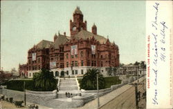 Court House, Los Angeles, Cal Postcard