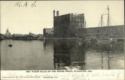 Flour Mills on the Water Front