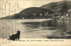 South Sausalito Looking Toward Reservation