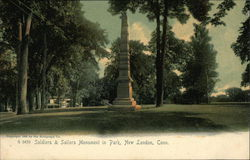 Soldiers & Sailors Monument in Park