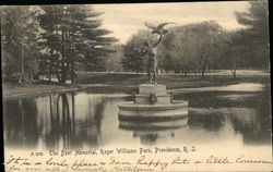The Dyer Memorial, Roger Williams Park