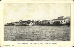 Left Part of Town, as Seen from the Wharf