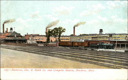 Factories, Geo. E. Keith Co. and Campello Station
