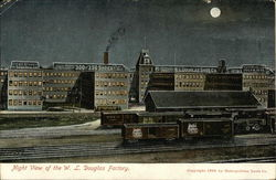 Night View of the W.L. Douglas Factory
