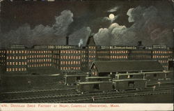 Douglas Shoe Factory at Night