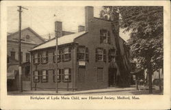 Birthplace of Lydia Maria Child, now Historical Society