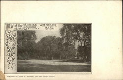 View of the Square Postcard