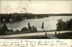 View of Lake Archer Postcard