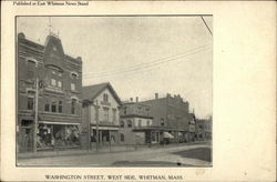 Washington Street, West Side Whitman Business College