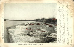 Scenic View of Pawtucket Falls