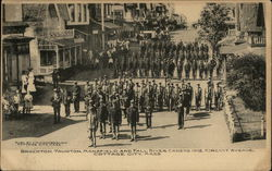Brockton, Taunton, Mansfield and Fall River Cadets, 1905, Circuit Avenue