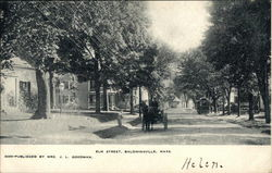 Elm Street in Baldwinsville, Mass