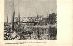 Griswoldville Bridge Postcard
